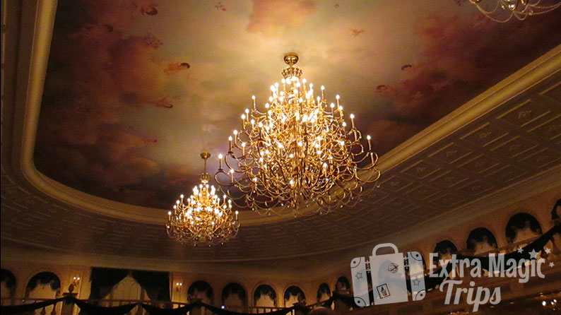 The Library Dining Room at Be Our Guest Restaurant