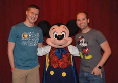 Meeting Mickey at Magic Kingdom® Park