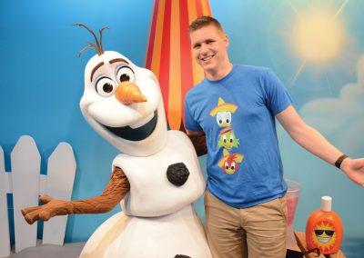 Meeting Olaf at Disney's Hollywood Studios®
