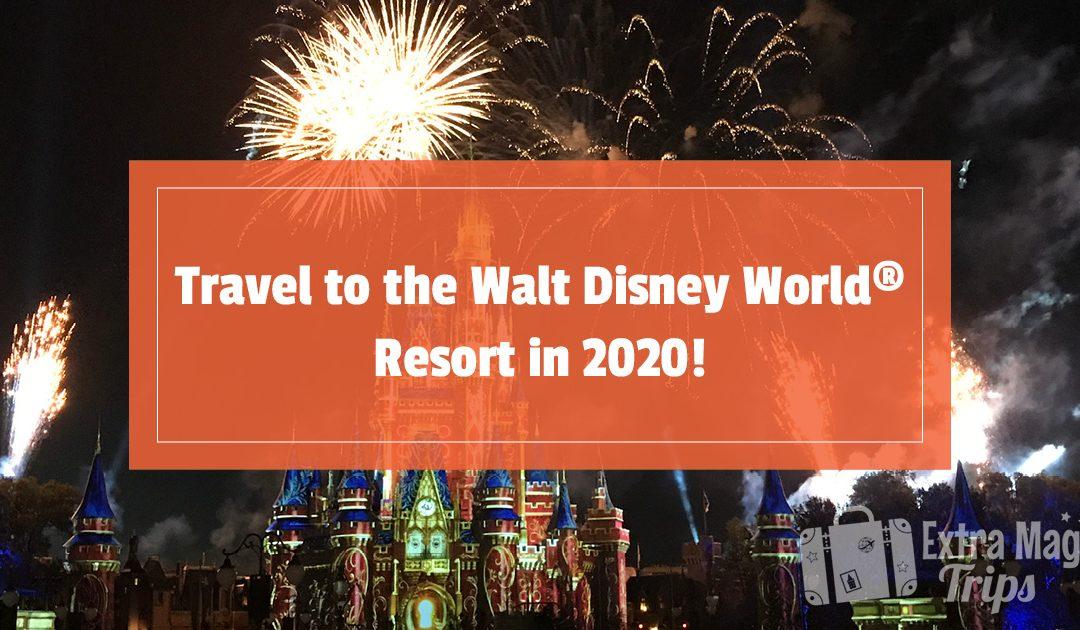 Travel to the Walt Disney World® Resort in 2020!